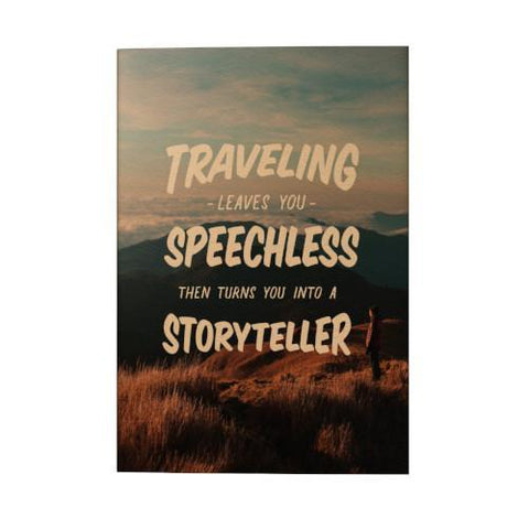 Traveling Leaves You Speechless 2019 Pocket Planner