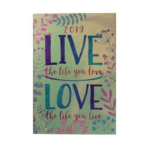 Live the Life you Love 2019 Pocket Planner