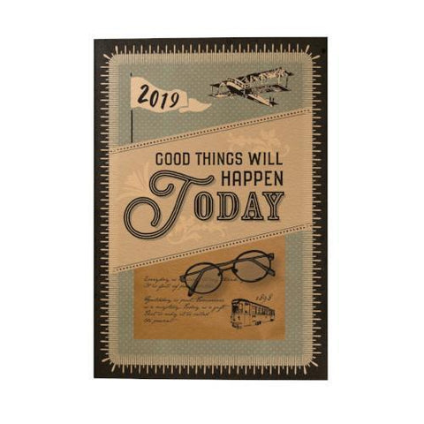 Good Things Will Happen Today 2019 Pocket Planner