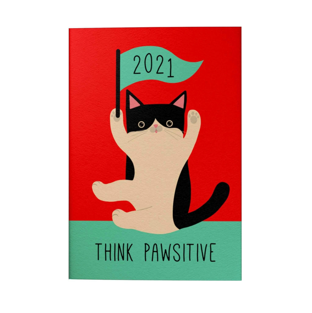 Think Pawsitive 2021 Pocket Planner