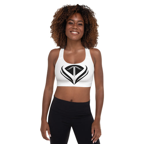 VonTrue Logo Padded Sports Bra