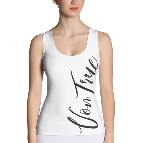 VonTrue Vertical Sublimation Cut & Sew Tank Top