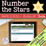 Number the Stars | Google Forms Edition | Novel Study