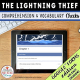 The Lightning Thief | Google Forms Edition | Novel Study