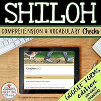 Shiloh | Google Forms Edition | Novel Study