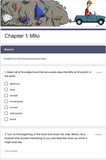 The Phantom Tollbooth | Google Forms Edition | Novel Study