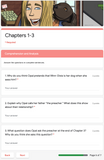 Because of Winn-Dixie | Google Forms Edition | Novel Study