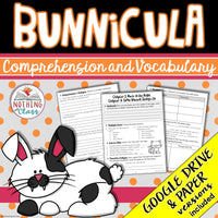 Bunnicula: Comprehension and Vocabulary