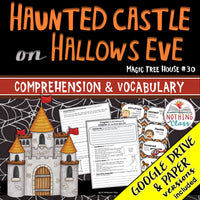 Haunted Castle on Hallows Eve: Comprehension and Vocabulary