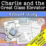 Charlie and the Great Glass Elevator Novel Study Unit