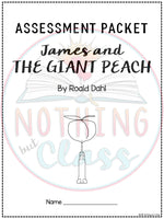 James and the Giant Peach: Tests, Quizzes, Assessments
