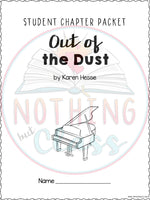Out of the Dust: Comprehension and Vocabulary by chapter