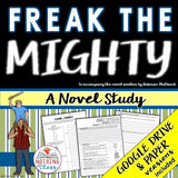 Freak the Mighty Novel Study Unit