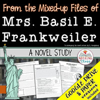 From the Mixed-up Files of Mrs. Basil E. Frankweiler Novel Study Unit