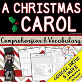 A Christmas Carol: Comprehension and Vocabulary