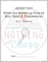 From the Mixed-up Files of Mrs. Basil E. Frankweiler: Tests, Quizzes, Assessments