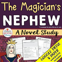 The Magician's Nephew Novel Study Unit