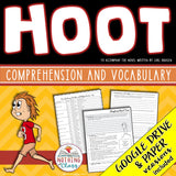 Hoot: Comprehension and Vocabulary