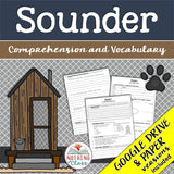 Sounder: Comprehension and Vocabulary