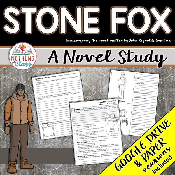 Stone Fox Complete Novel Study Unit