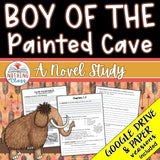Boy of the Painted Cave Novel Study Unit