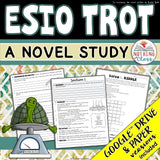 Esio Trot Novel Study Unit