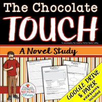 The Chocolate Touch Novel Study Unit