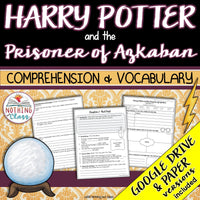Harry Potter and the Prisoner of Azkaban: Comprehension and Vocabulary