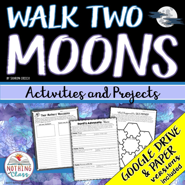 Walk Two Moons: Activities and Projects