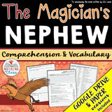 The Magician's Nephew: Comprehension and Vocabulary