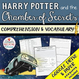 Harry Potter and the Chamber of Secrets: Comprehension and Vocabulary