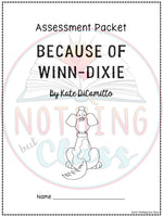 Because of Winn-Dixie: Tests, Quizzes, Assessments