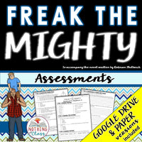 Freak the Mighty: Tests, Quizzes, Assessments