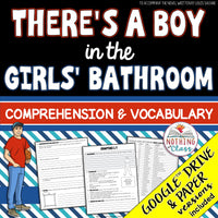 There's a Boy in the Girls' Bathroom: Comprehension and Vocabulary