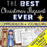 The Best Christmas Pageant Ever: Comprehension and Vocabulary