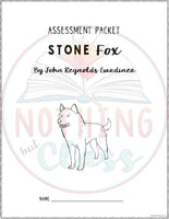 Stone Fox: Tests, Quizzes, Assessments