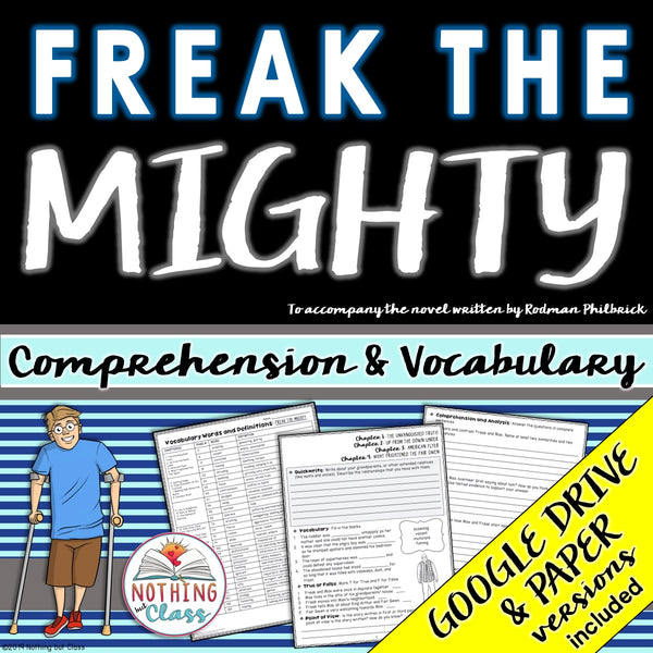 Freak the Mighty: Comprehension and Vocabulary
