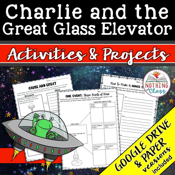 Charlie and the Great Glass Elevator: Activities and Projects
