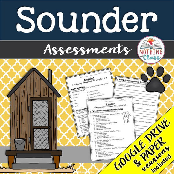 Sounder: Assessments
