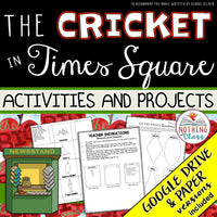 The Cricket in Times Square: Activities and Projects