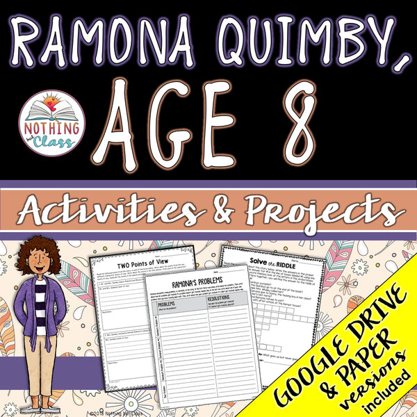 Ramona Quimby, Age 8: Activities and Projects