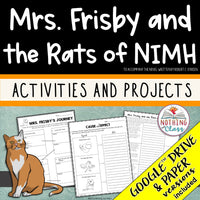 Mrs. Frisby and the Rats of Nimh: Activities and Projects