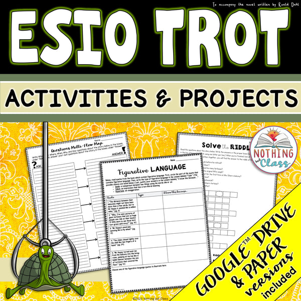 Esio Trot: Activities and Projects