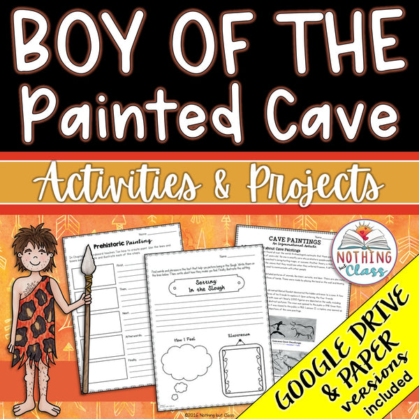 Boy of the Painted Cave: Activities and Projects