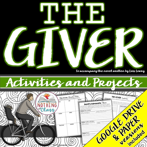 The Giver: Activities and Projects