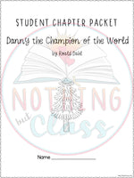 Danny the Champion of the World: Comprehension and Vocabulary