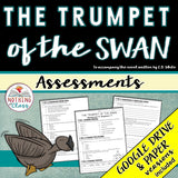 The Trumpet of the Swan: Tests, Quizzes, Assessments