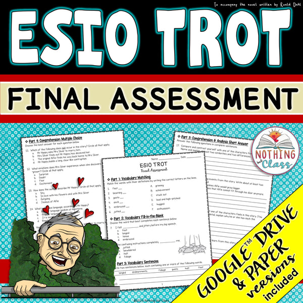 Esio Trot: Tests, Quizzes, Assessments