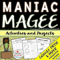 Maniac Magee: Activities and Projects