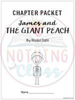 James and the Giant Peach: Comprehension and Vocabulary